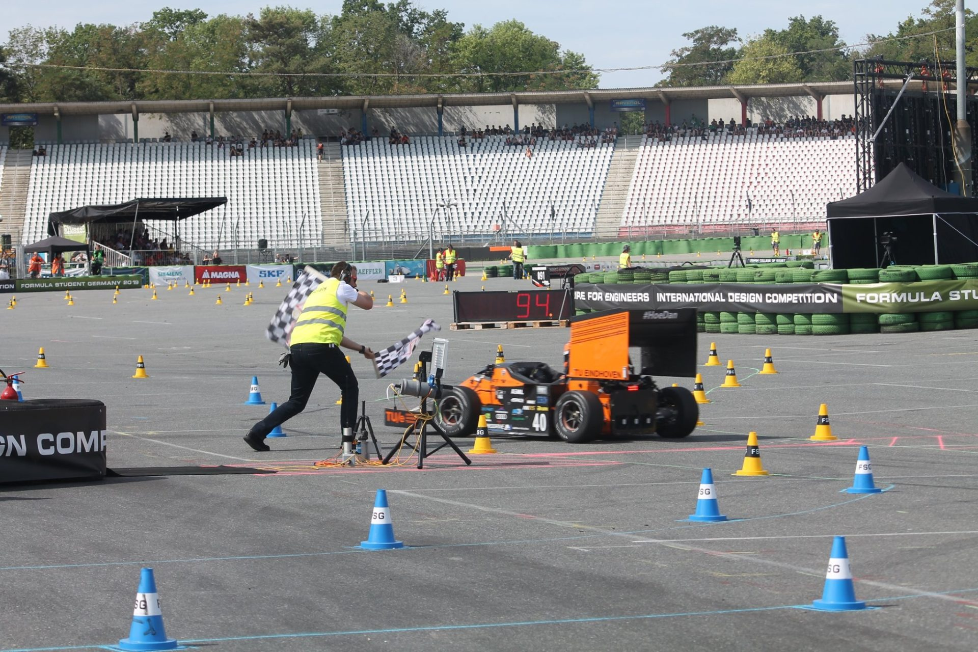 Hockenheimring duitsland formula student race
