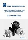 AF/AFR catalogus