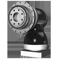 APK serie haaks hypoïde tandwielkast met uitgaande flens ISO 9409 Apex Dynamics