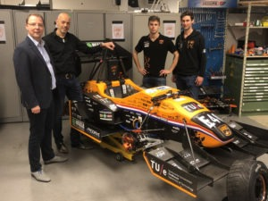 Apex sponsor University Racing Eindhoven