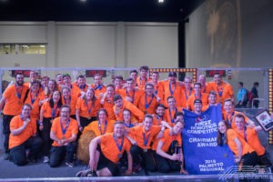 Team Rembrandts shows the Chairman's Award banner