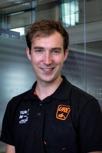 URE Teamleider Dennis Gubbels