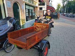 Milieuvriendelijke bakbrommer Amsterdam