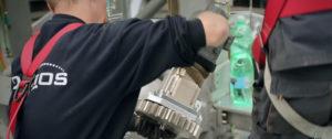 Montage Servomotor met AB115-060 spelingsarme reductor