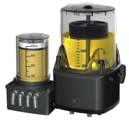 fully automatic lubrication system for rack drives and more